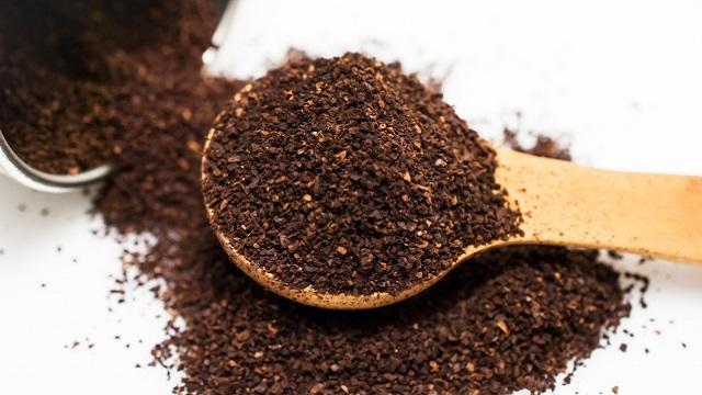 コーヒーをいれる時に使う豆の量スプーン