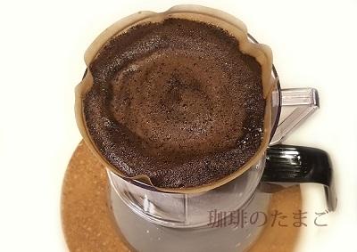 コーヒー抽出完了