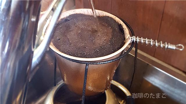 アイスコーヒー自然冷却濃い目