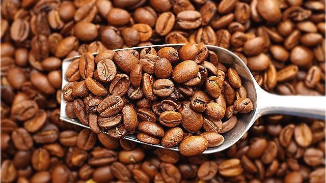 コーヒー豆浅煎り
